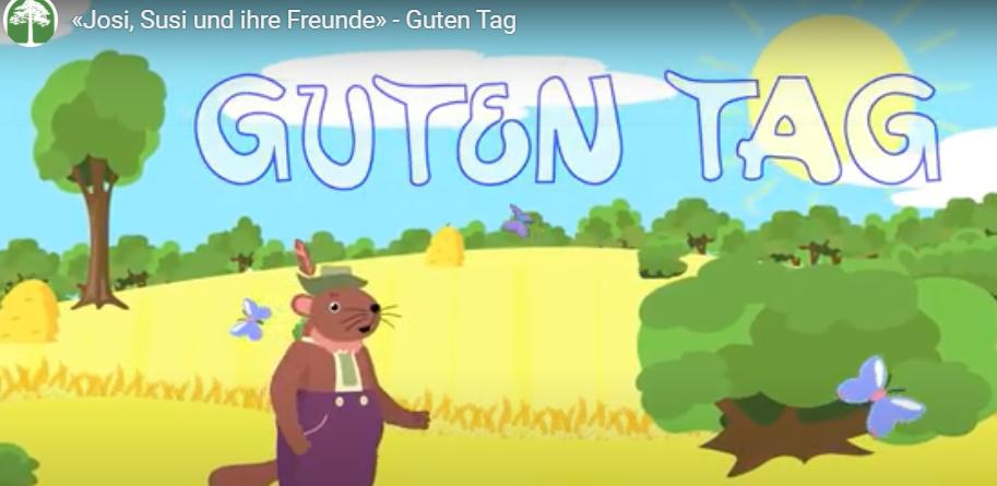 Мультфильмы на немецком языке для самых маленьких